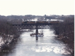UP 1995 crossing the Eau Claire River